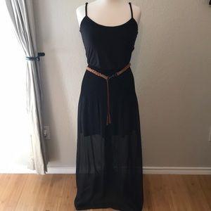 As U Wish Maxi Dress w/ Belt